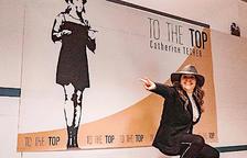 Catherine Techer en un dels esdeveniment promoguts pel sistema piramidal.