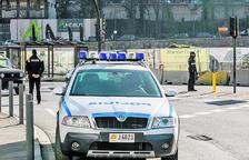 Un control de la policia en una actuació anterior