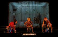 Actrius de l'espectacle teatral 'Prostitución'.