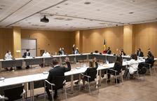 Sessió de Consell de comú celebrada aquesta tarda
