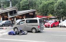 Els ingressats per l'accident de moto, estables però continuen a l'UCI