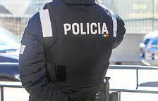 Un agent del cos de policia.