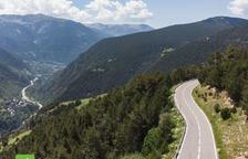 Tancament de carreteres pel Ral·li d'Andorra