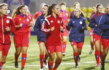 La selecció femenina tornarà a jugar dos anys després.