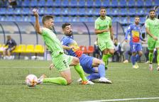 L'Andorra empata tot i avançar-se dos cops al marcador (2-2)