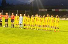 La selecció femenina torna amb golejada (2-4)