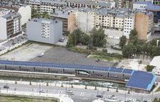 La instal·lació fotovoltaica del sostre de l'estació nacional d'autobusos.