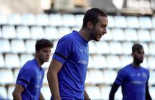 Marc Aguado ha complert els quatre partits de sanció.