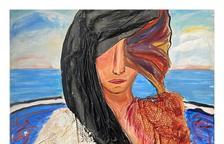Cartell de l'exposició d'homenatge a Rosa Mari Rosell.