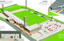 """Un estadi adaptat a l'entorn i """"no gaire ostentós"""""""