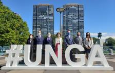 La delegació d'Andorra a l'assemblea de l'ONU
