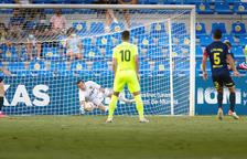 L'FC Andorra empata contra l'UCAM Múrcia (1-1)