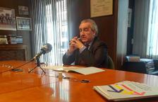 Jaume Bartumeu al despatx, ahir al matí.