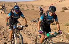 Caetano i Balart durant una de les etapes.