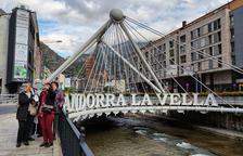 Turistes al centre de la capital