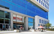 La seu central de Netflix a Califòrnia.
