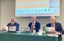 Els rectors de la Nusct a San Marino.