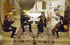 El concert del Quartet Goldberg.