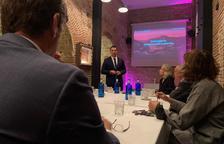 Jordi Gallardo en les sessions de treball