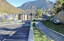 El nou aparcament Casa Tresà es va inaugurar ahir