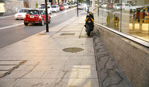 El carrer de la Unió brut d'orins.