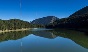 L'estany d'Engolasters, una zona tranquil·la.