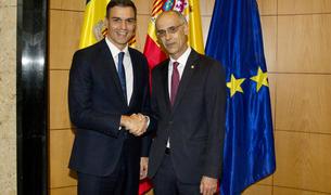 Toni Martí i Pedro Sánchez aquesta tarda a Madrid.
