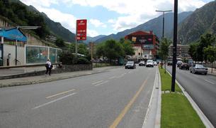 El tram de l'avinguda que quedarà afectat per les obres