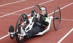 El ciclista paralímpic Xavier Fernández