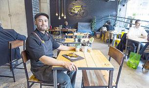 Luis Gamboa, xef del restaurant Odei Coffee&Kitchen