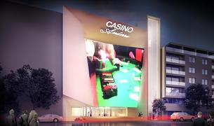 Imatge del projecte de l'edifici de Jocs SA.