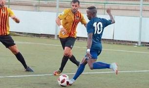 Moussa Sidibé, amb el Llagostera.