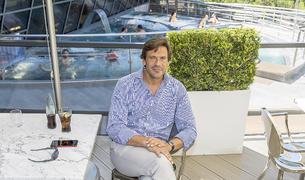 Miguel Pedregal assegura sentir-se molt a gust a Andorra.