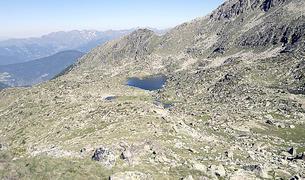 Les vistes panoràmiques que ofereix el camí de l'Óssa.
