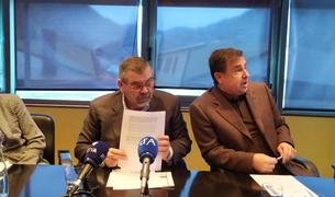 Rascagneres i Delgado presenten el balanç del mandat 2014-2019