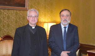 El Copríncep episcopal, Joan-Enric Vives, i el Raonador del Ciutadà, Marc Vila