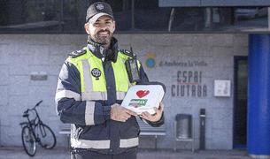 El responsable d'unitat del servei de circulació, Robert Giménez, a Andorra la Vella