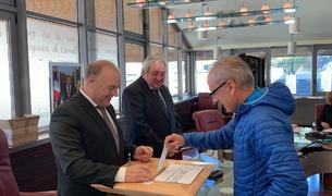 Francesc Camp ha votat a Canillo