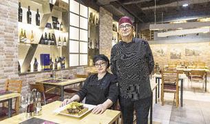 Els xefs d'El Raïm, José Manso i Sinda Teixeira