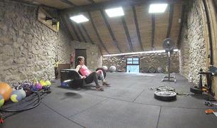 L'entrenament personal a domicili és un servei que ofereixen alguns professionals de l'esport