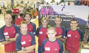 L'equip de la FAM, l'any 2003.