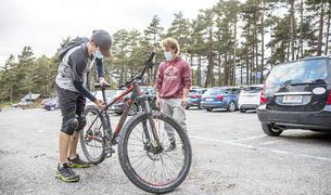 Des de la setmana passada també es pot fer bicicleta.