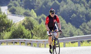 El president de l'Associació de fallaires d'Andorra la Vella, Santi Sànchez