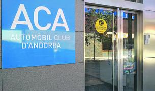 Façana de l'edifici de l'ACA.