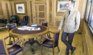 El cap de Govern, Xavier Espot, durant l'entrevista amb el Diari.