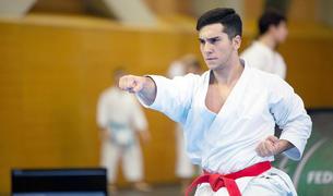 El karateka Silvio Moreira