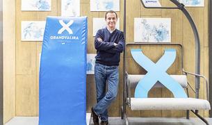 Juan Ramón Moreno a les oficines de Grandvalira.