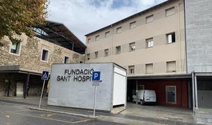 Façana del Sant Hospital dela Seu d'Urgell