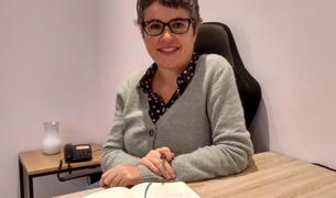 La periodista i escriptora catalana Anna Ballbona, a la residència Faber Andorra.