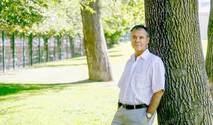 L'escriptor Albert Salvadó, que va traspassar ahir als 69 anys.